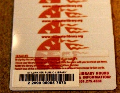 Library Cards  Stillwater Mn Public Library
