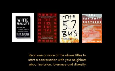 A 'Pop-Up' Book Club – A discussion of diversity, tolerance, migration and discrimination in America