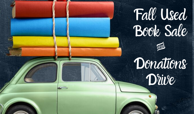 Friends Fall Book Sale & Donations Drive