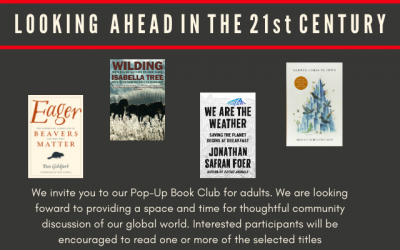 Pop-Up Book Club for Adults: Looking Ahead in the 21st Century