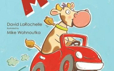 March MOO-stery Month Celebration featuring local author David LaRochelle and local illustrator Mike Wohnoutka